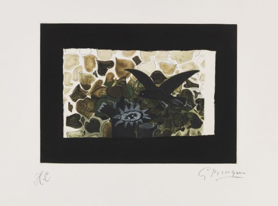 Georges Braque - Lithografie